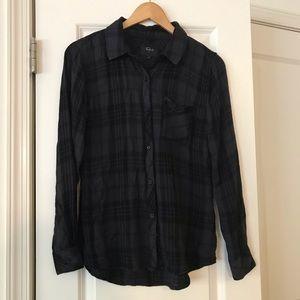 Rails Plaid Shirt-size small